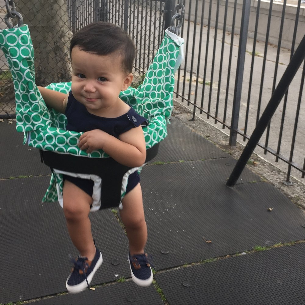 swinging is the best!