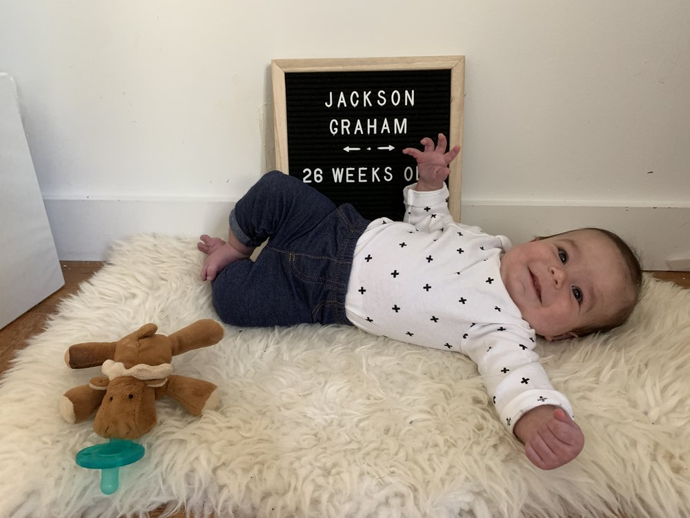 26 weeks old
