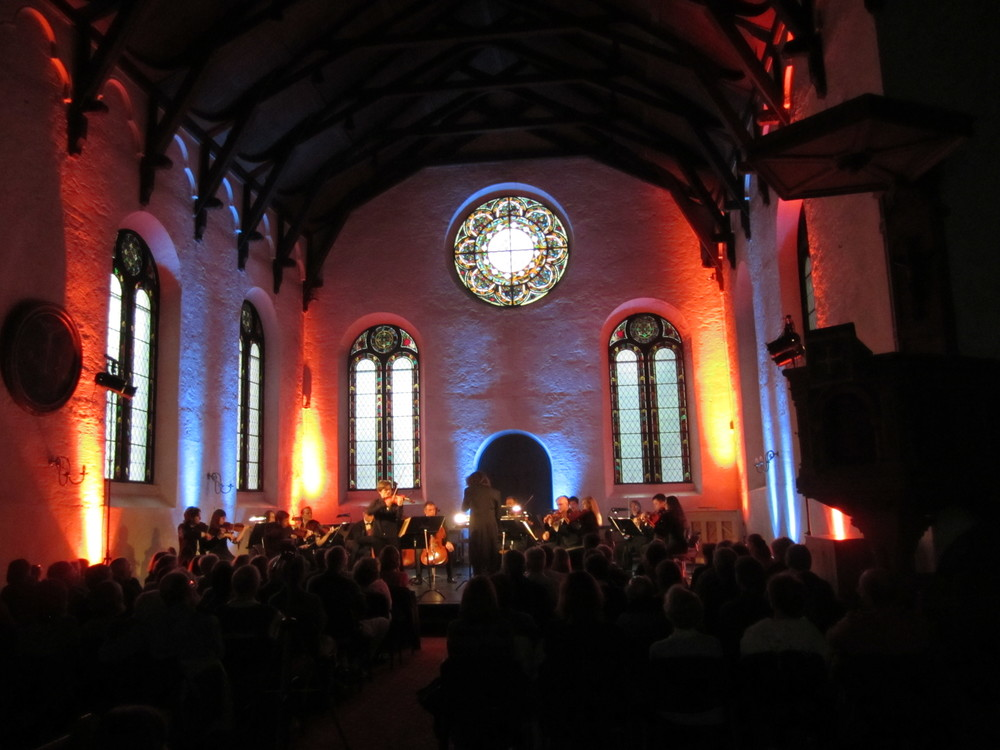 The Belarusian State Chamber Orchestra during the opening concert on June 16th, 2012.
