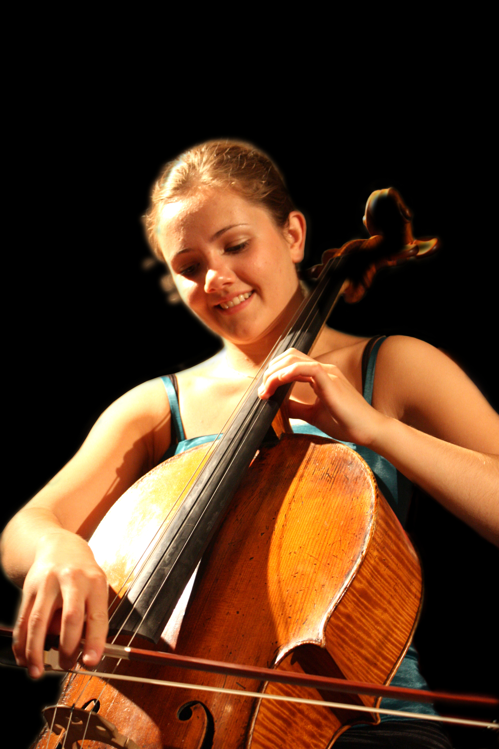 One of the young musicians performing this year, Frida Fredrikke Waaler Wærvågen.