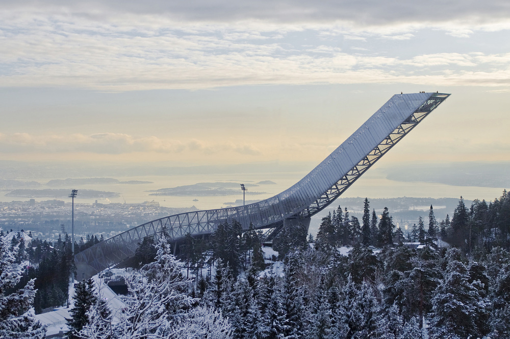 The Ski Jump Photo: Marco Boella