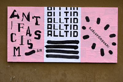 Daniel's Anti- Fascism piece for Ficciones Typografika