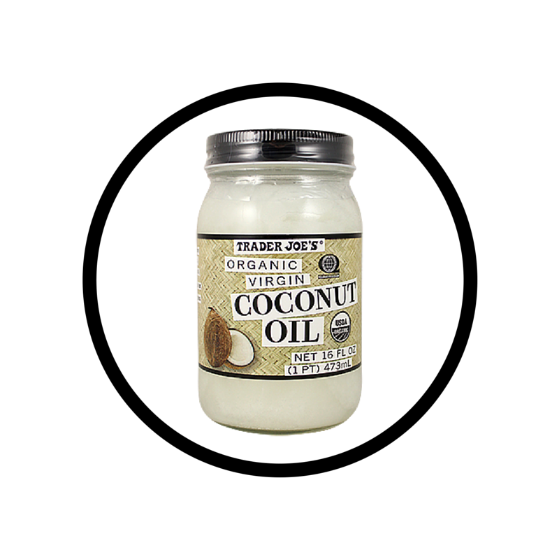 Coconut oil: for everything! makeup remover, moisture, white teeth and hair treatment.