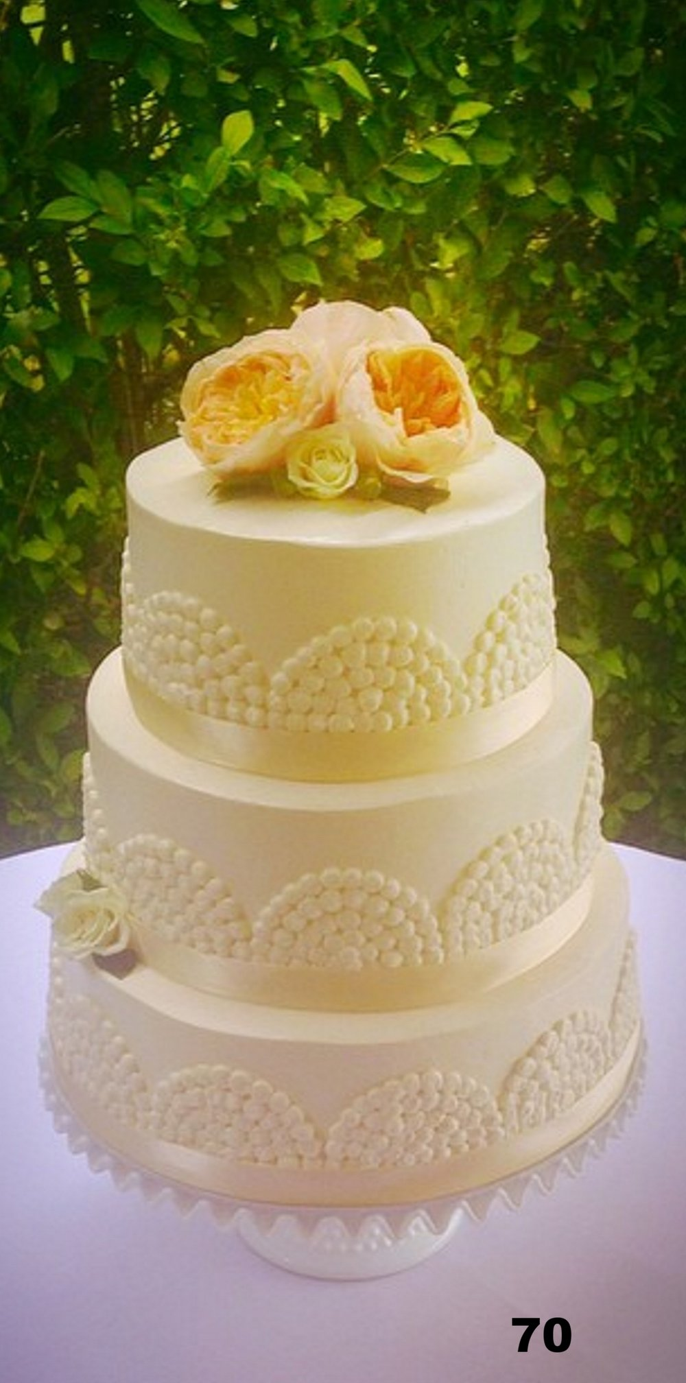 Wedding Cakes Gallery 4 — Cottage St Bakery