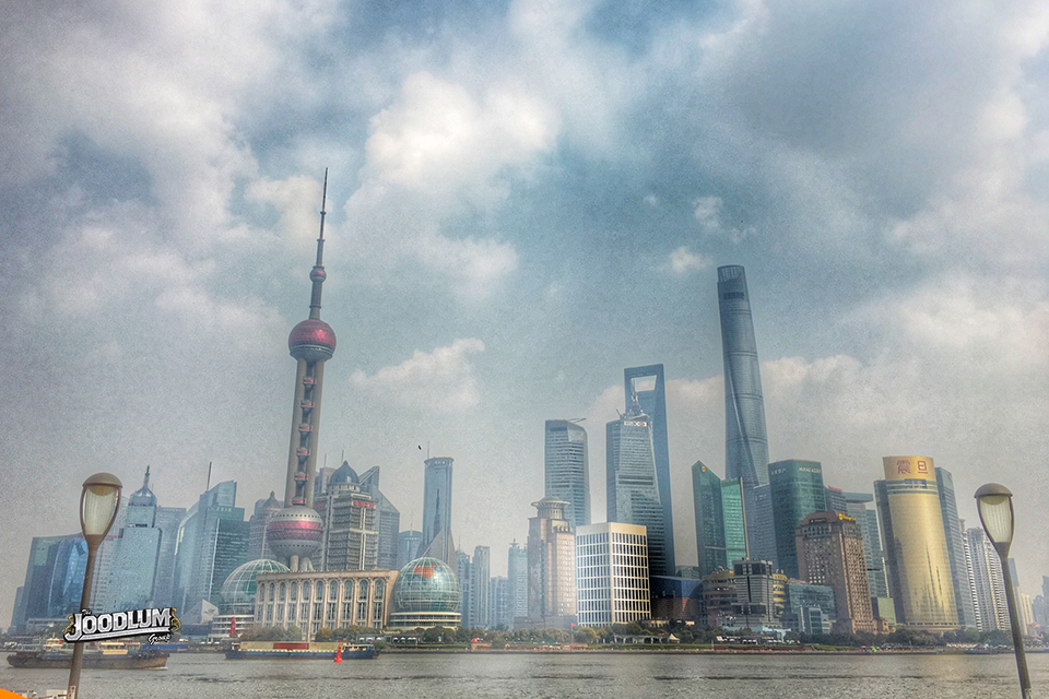 The Bund. Shanghai.