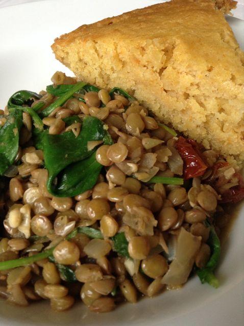 Lentil recipe  here