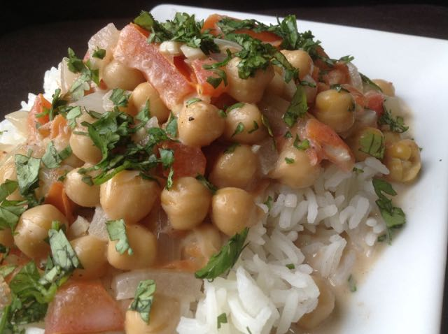 Chickpea dal recipe 30 minute meal brown vegan i find myself doubling and sometimes tripling recipes and that was the case for this indian chickpea dal with coconut broth i found on steamy kitchen sisterspd