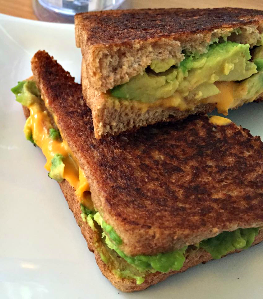 This sandwich using Daiya cheese is perfection!