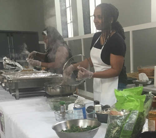 Thrive Baltimore cooking demo