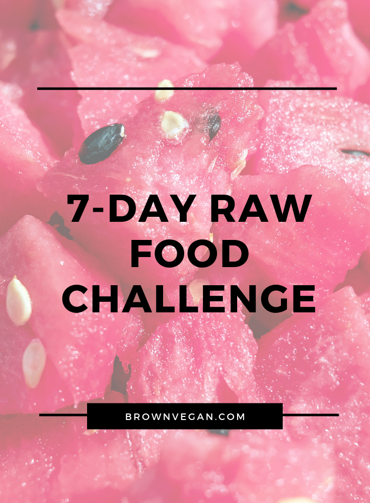 7-Day Raw Food Challenge | Are You In? — Brown Vegan