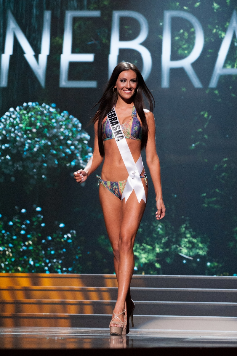 Amanda looked incredible on stage at Miss USA!