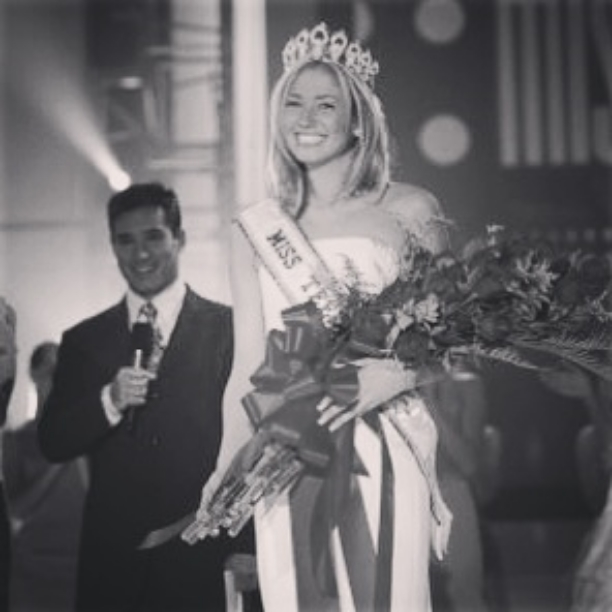 Just crowned Miss Teen USA 2003.