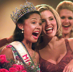 Vanessa Minnillo is crowned Miss Teen USA 1998