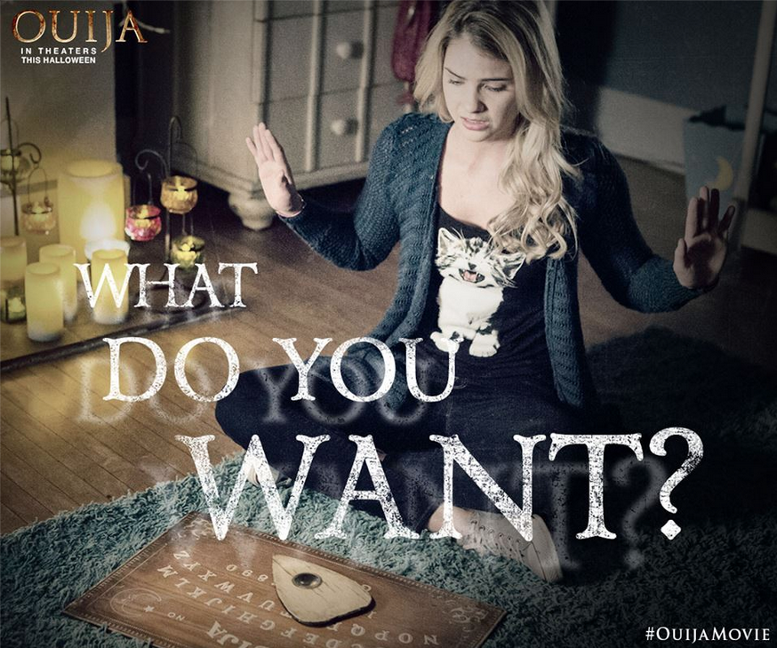 "Shelley plays ""Debbie"" in Ouija"