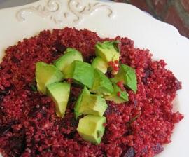 Susie's Scarlet Quinoa