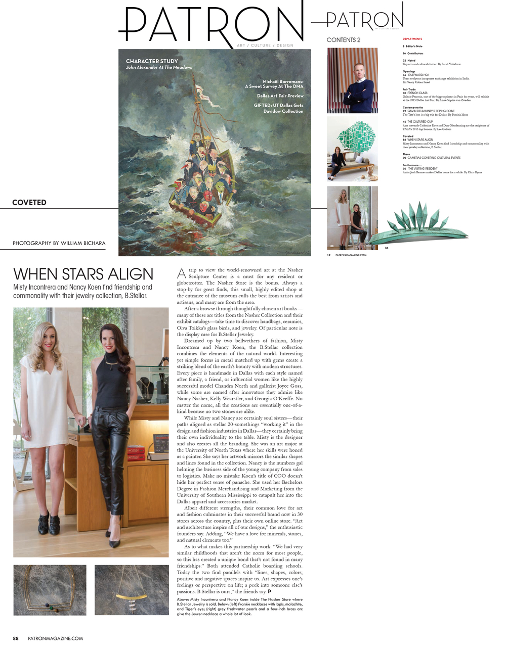 patron magazine | february 2015
