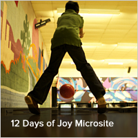 12 Days of Joy Microsite