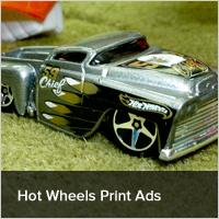Hot Wheels Print Ads