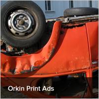 Orkin Print Ads