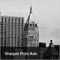 Sharpie Print Ads