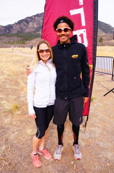 1st Place man & woman @ XTerra Cheyenne Mountain 12K