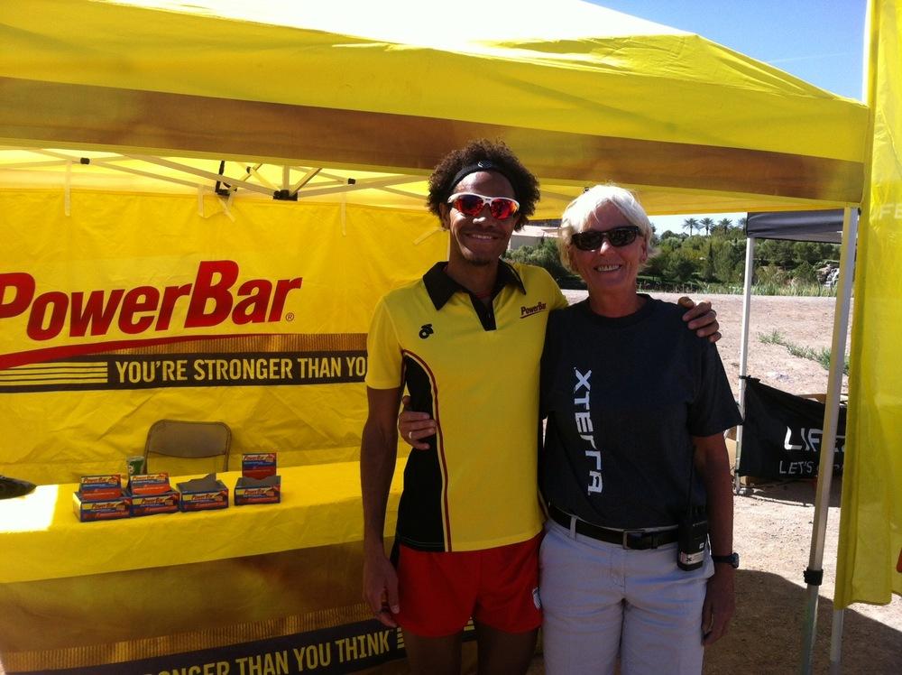 XTERRA President  Janet Clark  & I