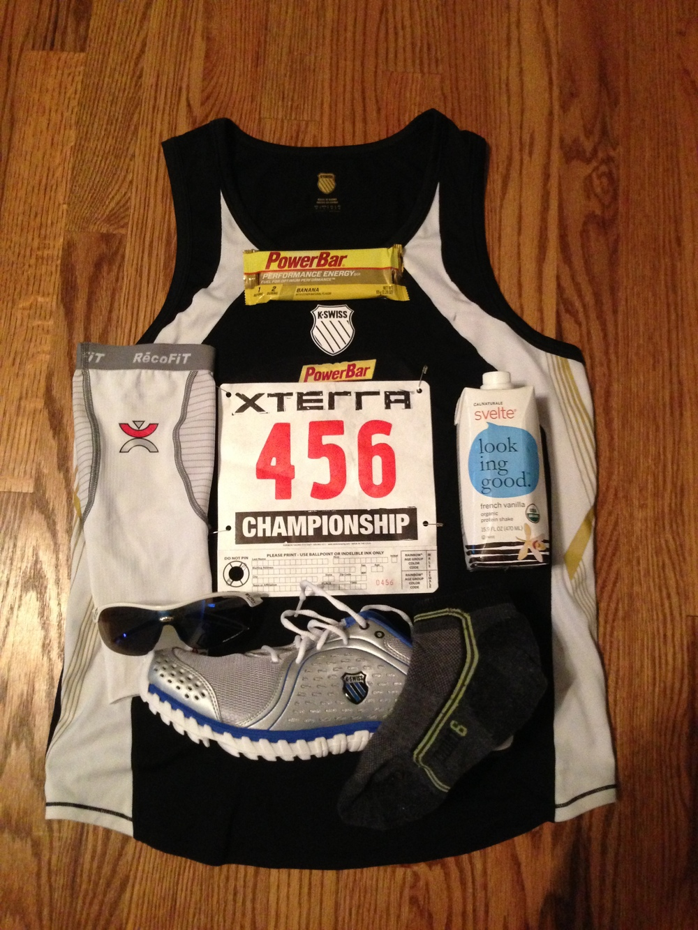 Race Kit, locked & loaded!
