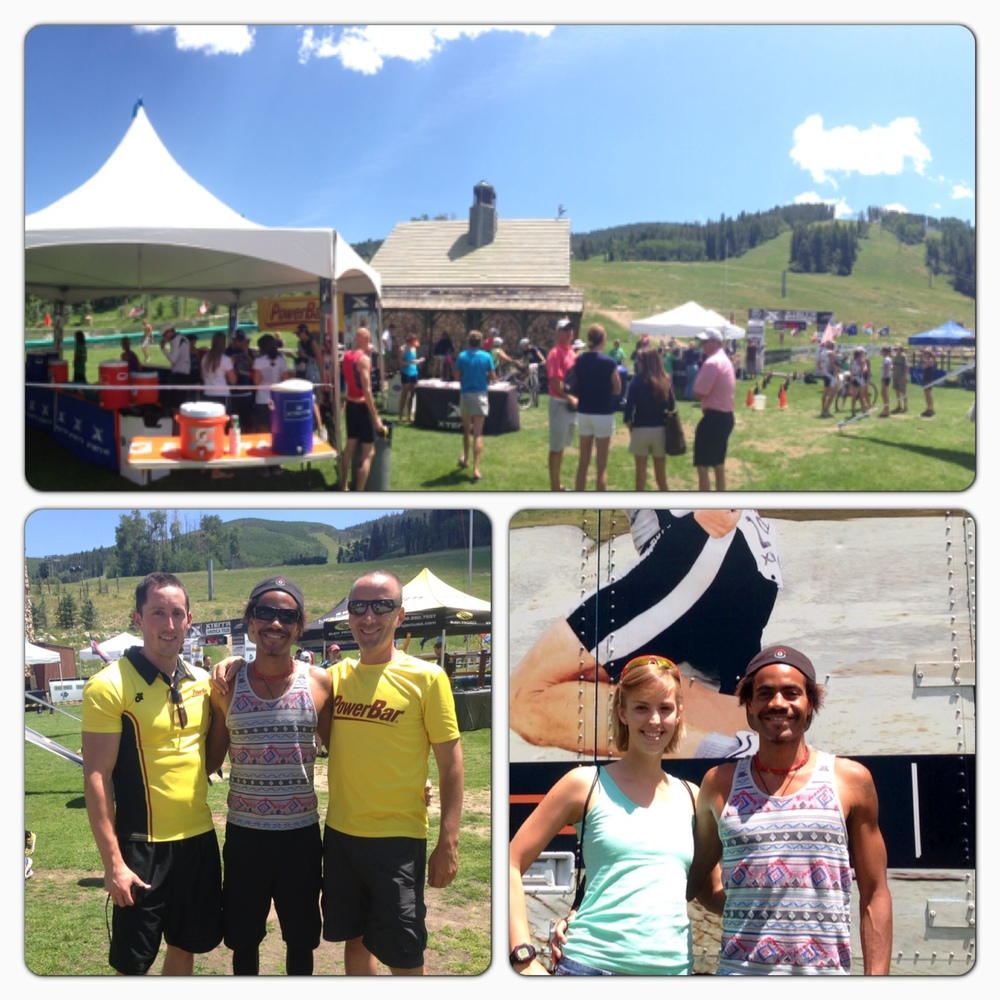 Race HQ, PowerBar Folks, Molly & I