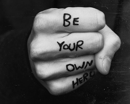 "It's YOU vs YOU, ""Be Your Own Hero"""