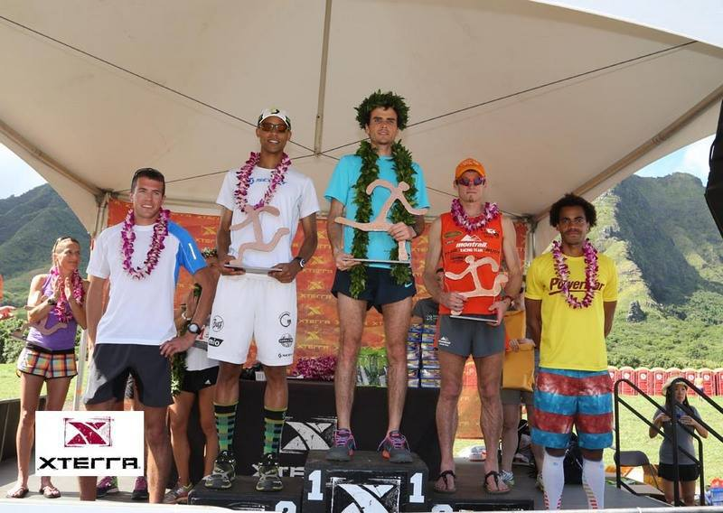 XTERRA Trail World Champs. Men's Podium