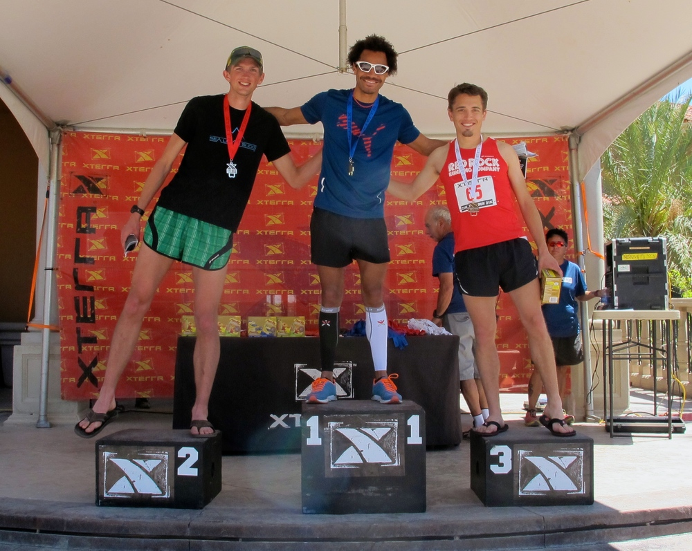 Podium: 3rd - Forrest Jarvi, 2nd - Forrest Boughner, 1st -  Roberto Mandje