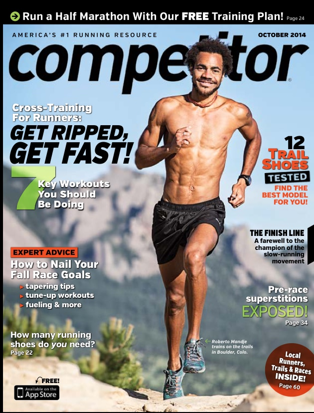 October 2014 Issue of  Competitor Magazine
