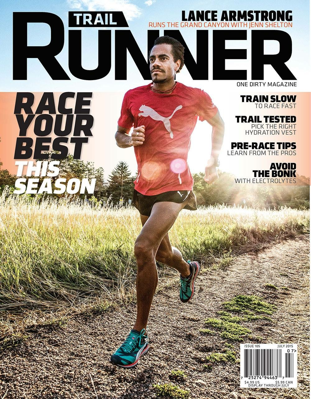July 2015 Issue of: Trail Runner Mag