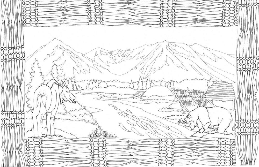 Lake Clark Coloring Book — Kristin Link