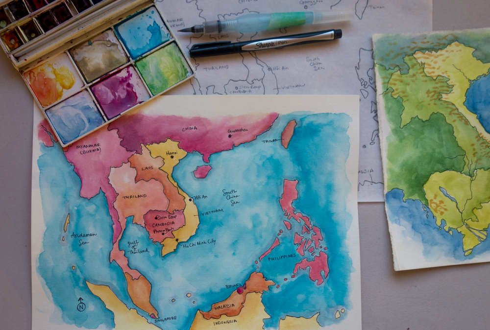 Part One: Create an Overview map -