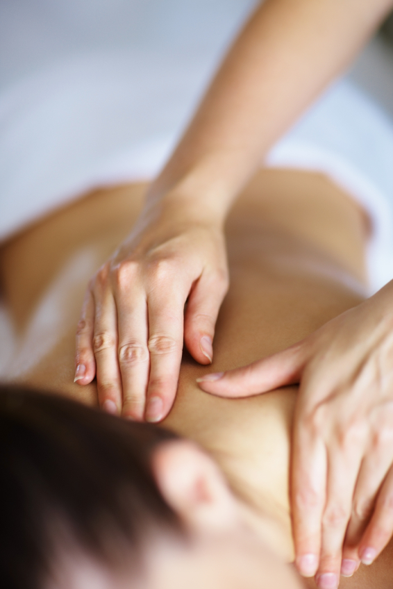 Having a massage will soothe aches and pains.