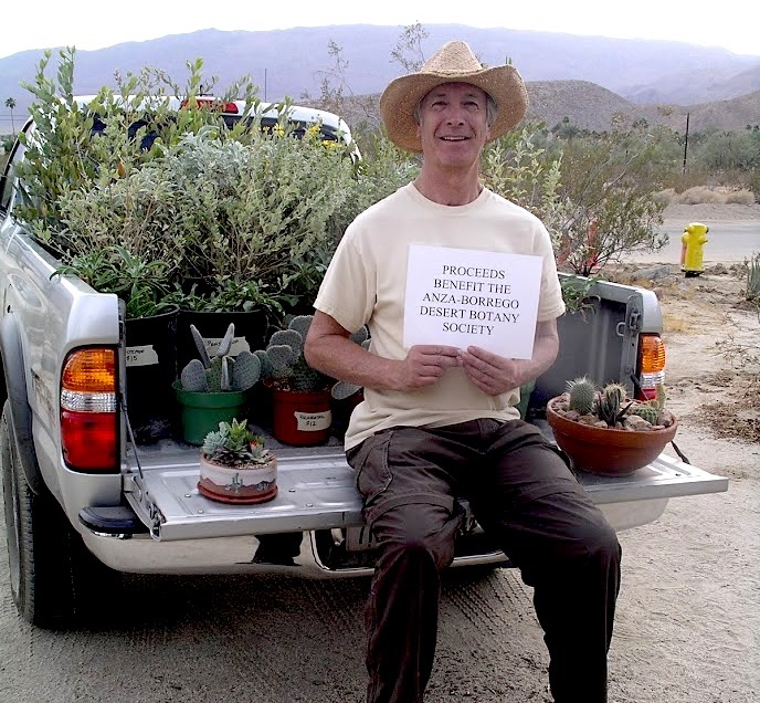 Don Rideout,  Co-Founder and Past President, Anza-Borrego Desert Botany Society and Plant Selection Editor, Calscape.com