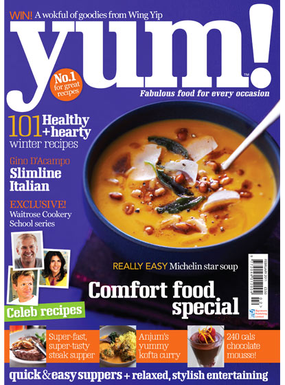 YUM Magazine Cover