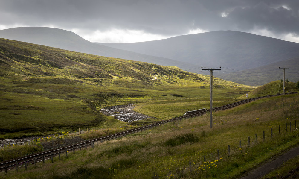 Taken somewhere on the A9