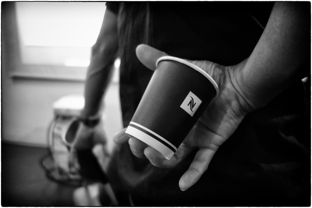 An extra jolt of caffeine to keep going.