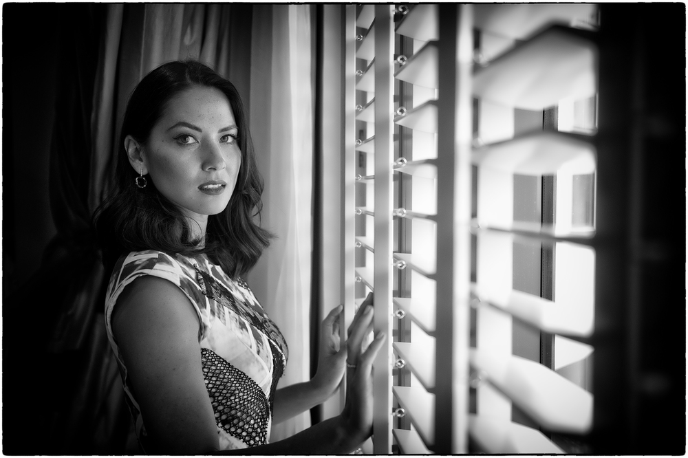 Actress Olivia Munn at the Four Seasons Hotel in Singapore.