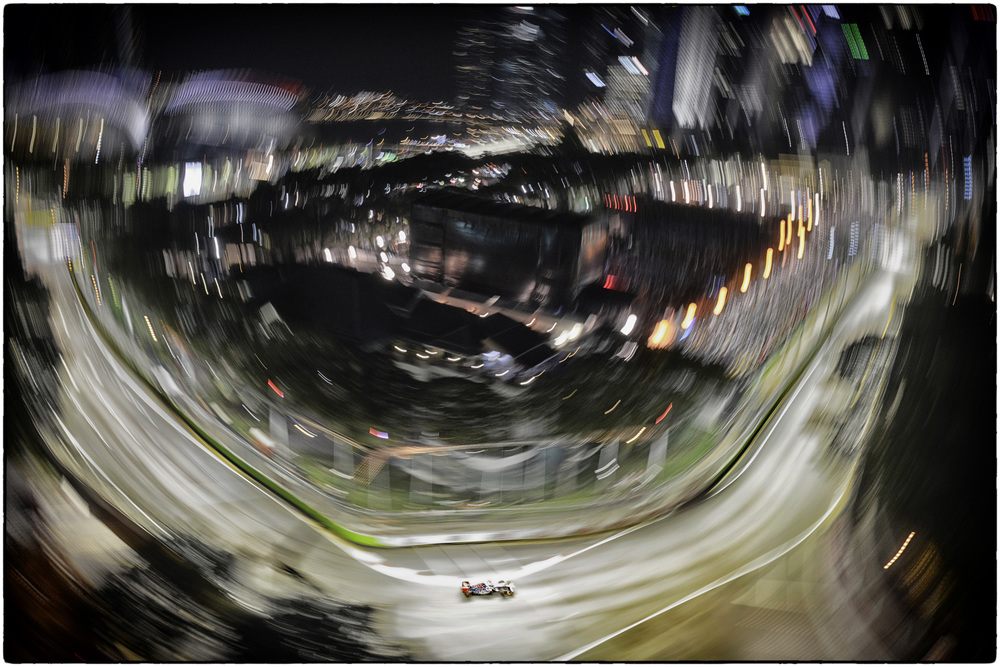 Turn 9 of the Marina Bay Street Circuit in Singapore.