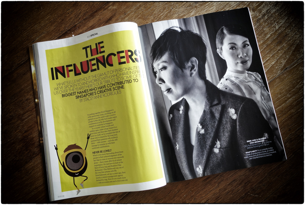 ELLE: The Influencers - Part of ELLE Singapore's 20th Anniversary Edition
