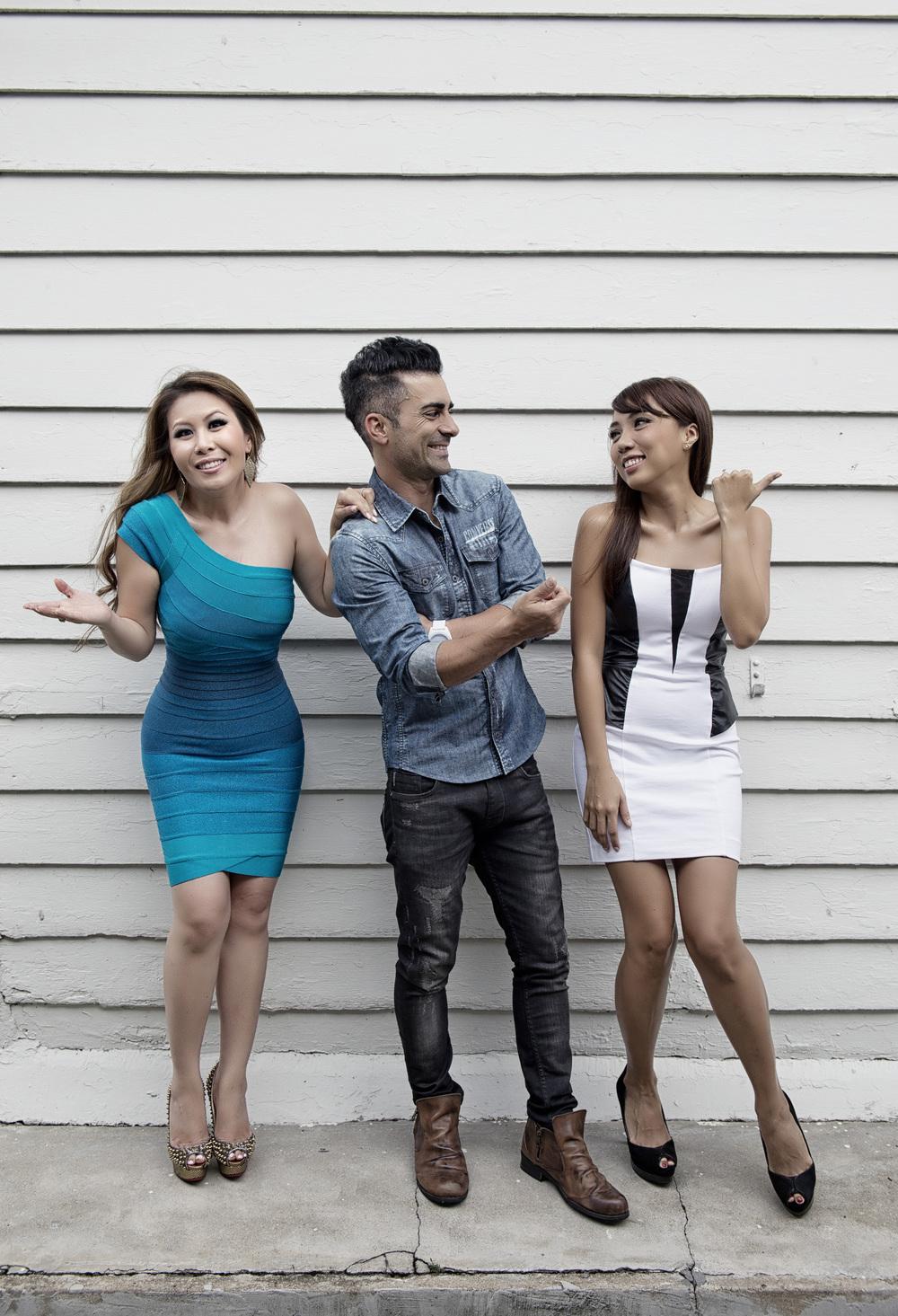 Yasminne Cheng, Mike Kasem & Jean Danker: DJs, Class 95FM