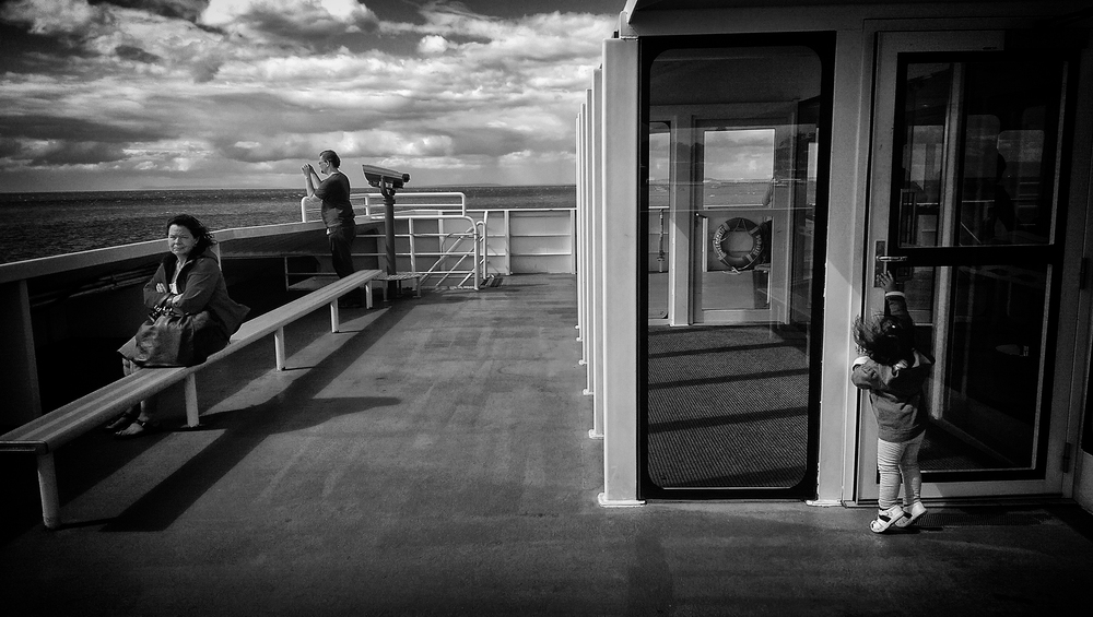 The ferry from Sorrento to Queenscliff, Victoria, Australia.