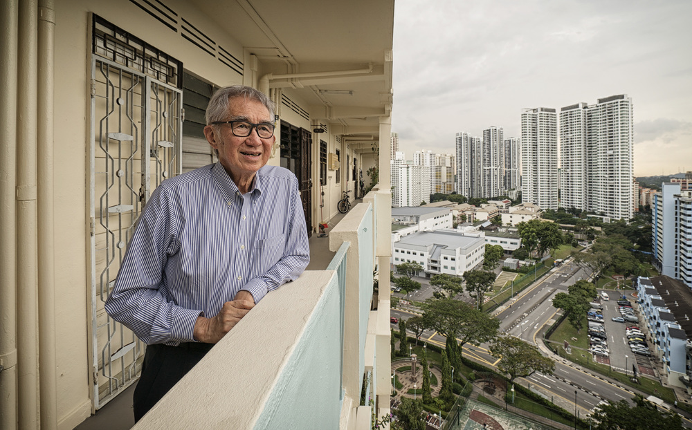 Architect Liu Thai Ker joined the Housing Board in 1969, and made public housing one of Singapore's finest achievements. He was chief executive of the HDB from 1979 till 1989, when he was appointed Singapore's chief planner till 1992.