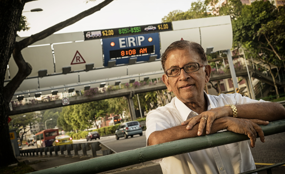 Kerala-born Gopinath Menon settled in Singapore in 1954. He was Singapore's chief transportation engineer from 1991 till he retired in 2001 and recalls the introduction of the system that led to today's electronic road gantries. He teaches at Nanyang Technological University and is now a freelance consultant.