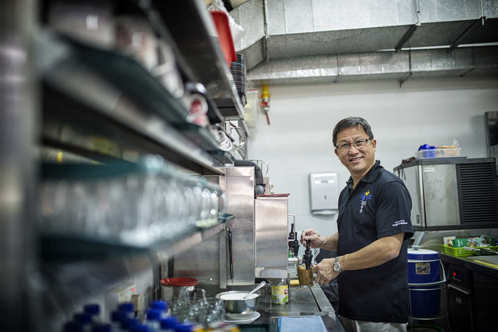 Social entrepreneur Koh Seng Choon founded Dignity Kitchen, a food court and hawker training school for the disabled and disadvantaged.