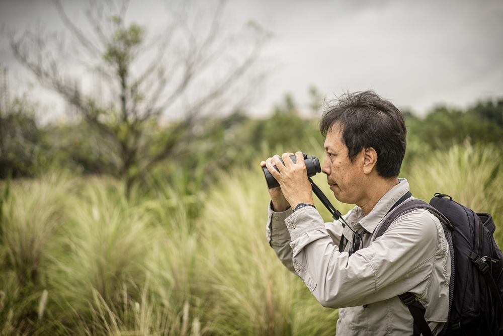 Bird guide Lim Kim Seng holds the record set in 2012 for the most number of species spotted here in a year, 265 species. He can recognise 350 different birds and identify their calls.