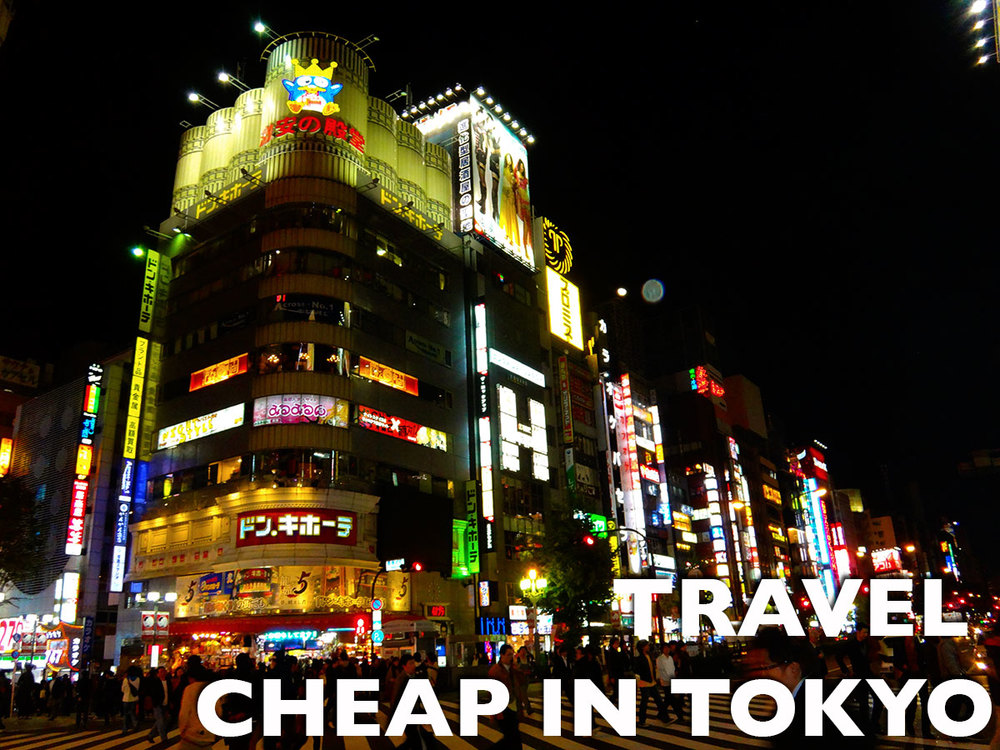 Travel Myth: Tokyo is expensive